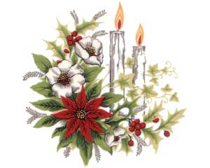 DCC & Flowers - Christmas Candles & Flowers