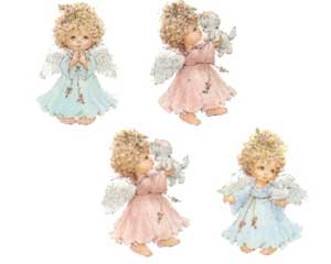DLA4SET - Little Angels, Set of 4