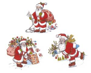 DSanta - Santa Set of 3