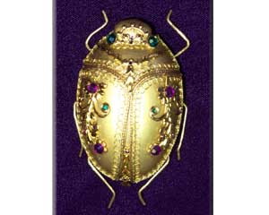 Jewelled Scarab - KJS