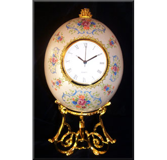 Ostrich Egg Clock Kit - KOEC