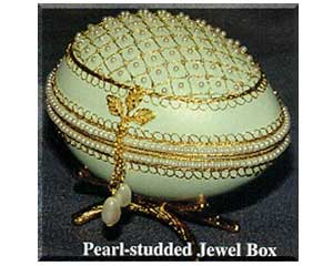 Pearl Studded Jewel Box - KPSJB
